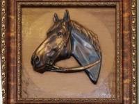 Чеканка Лошадь.900 рублей