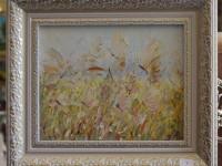 Картина маслом Бабочки. 6500 рублей