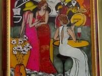 картина Витраж. 3200 рублей