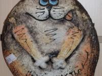 Кот. Шамотная глина. 430 рублей