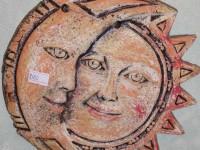 Панно Солнце и луна. 450 рублей